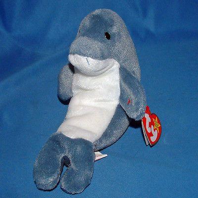 Ty Beanie Baby Echo - MWMT (Dolphin 1997)