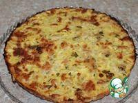 Быстрый заливной пирог с курицей и кабачком ингредиенты