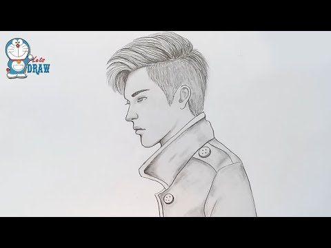 How To Draw A Boy Boy Pencil Sketch Youtube Boy Drawing Pencil Drawings Boy Sketch