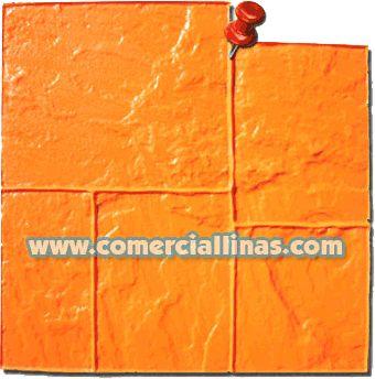 Sillería Laja 1. Moldes para hormigón impreso. La tienda de Comercial Llinás. http://tienda.comerciallinas.com/Silleria-Laja-1