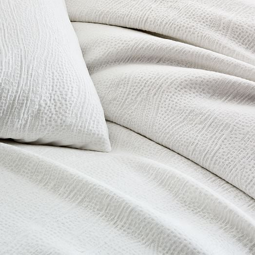 Tencel Cotton Matelasse Duvet Cover Shams Duvet Covers