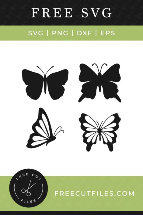 Cricut Butterfly Svg : cricut, butterfly, Butterfly, Silhouettes, Cricut, Monogram,, Butterflies, Files
