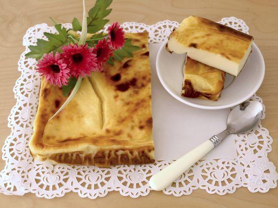 Pastel de queso... de los que no engordan!!!!