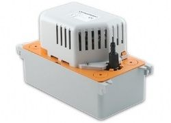 Sauermann SI-82 Pompe condensats climatiseurs  /  - Installation simple et rapide - Débit élevé (500l/h) - Fiabilité (bac de récupération de 2 l) - Sécurité (contact alarme et protection thermique 105°C) - Possibilité de raccorder plusieurs climatiseurs sur une seule pompe - Clapet anti-retour intégré