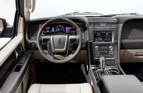 2015 Lincoln Navigator - Dash and front interior