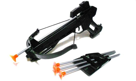 Balestra Toy Soft Arrow Firing Pistol Crossbow  #Hunson