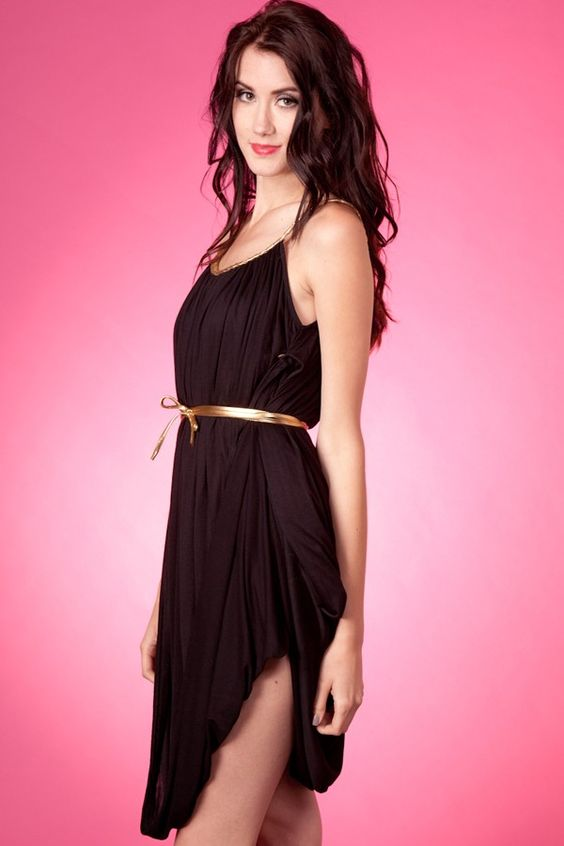 A draping take on the LBD