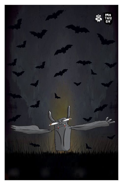 El vampiro Ruperto  Cartel en venta  ®Matanga 2012  60x90 cm    Serigrafía de edición limitada, impresa por 75 grados