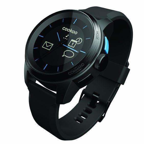 Bluetooth 4.0 Watch (iOS compatible, Black/Black): Amazon.de: Elektronik