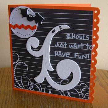 Ghouls just want to have fun - Scrapbook.com