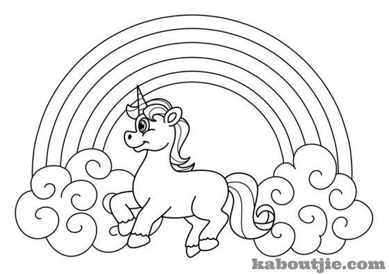 38 Unicorn Coloring Pages Printable Free