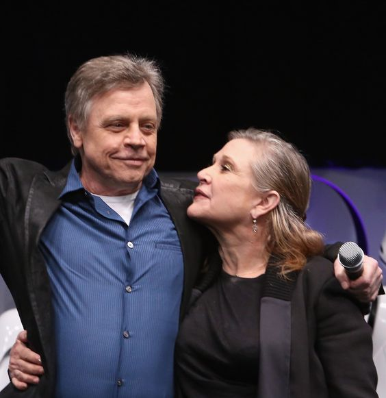 Mark Hamill & Carrie Fisher - Star Wars VII