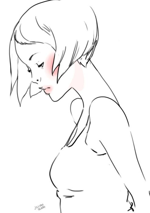 Glaを描きます, 描画の顔, ファッションイラスト, 簡単な図面, 絵画、図面, カード, Jillian Iscaro,  Illustrations Croquis, Moodboard Layouts