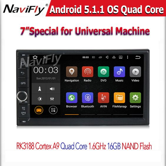 $200.00 (Buy here: http://appdeal.ru/fu5x ) Free shipping 7'' Double 2Din Android 5.1 Car Multimedia GPS navi car Audio 2 din 7 inch car Stereo auto Radio Navigator for just $200.00