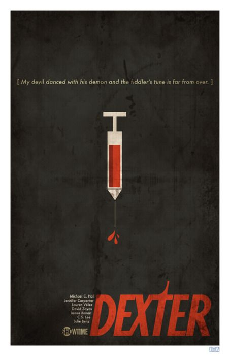 Dexter collectible poster: