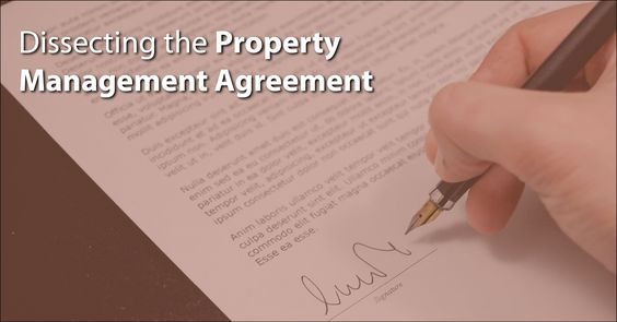 Do you fully understand what is in your property management - management agreement