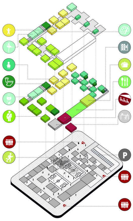 Fp arquitectura cuarto lugar en concurso ambientes de for Programas de arquitectura y diseno