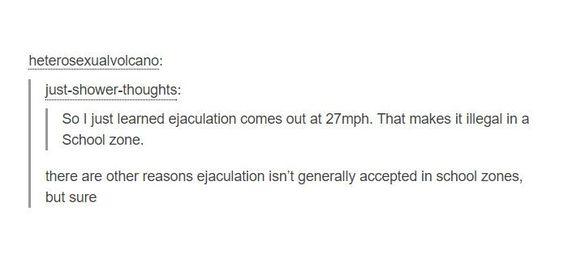 Wait, Ejaculation Isn't Accepted Ik School Zones? http://ibeebz.com