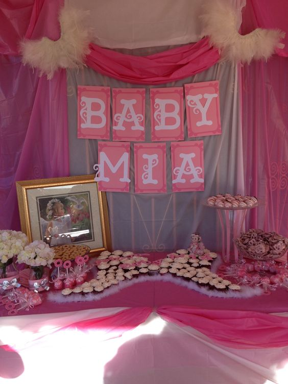 angel party desserts baby showers dessert tables showers the pink