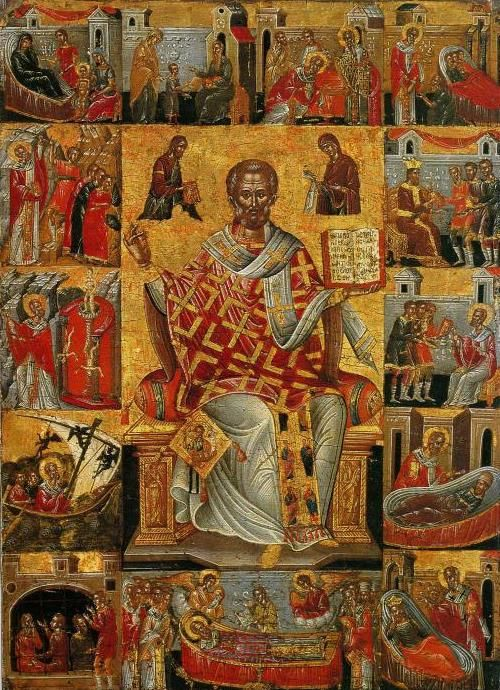 Icon of St. Spyridon Bishop of Trimythous