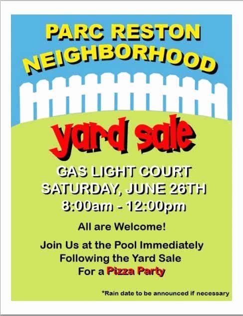 Yard Sale Flyer Template Word Beautiful 15 Free Yard Sale Flyers