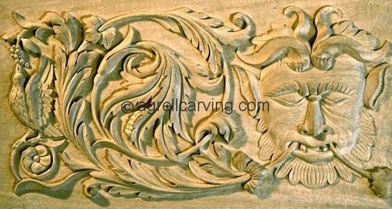 Renaissance woodcarving designs styles