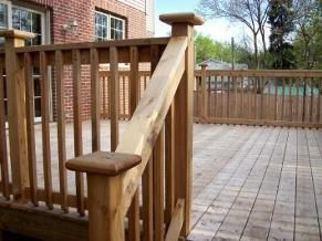 Best Diy Wooden Porch Handrail Ideas Wood Deck Railing Deck 640 x 480