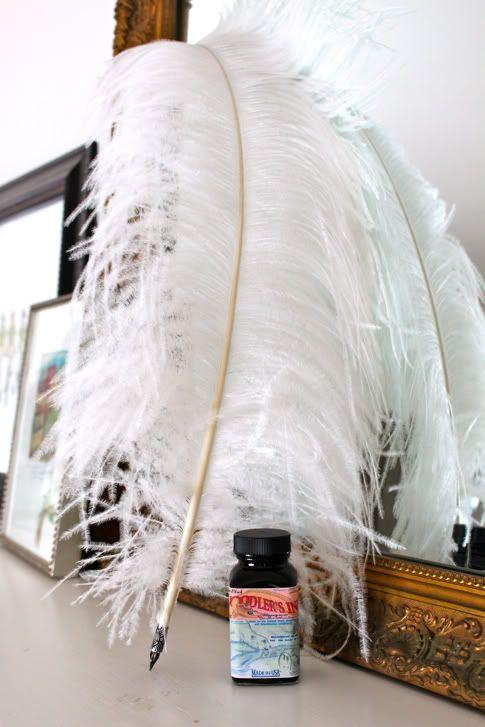 Diy Fancy Feather Quill Pen Diy Crafts Creativity
