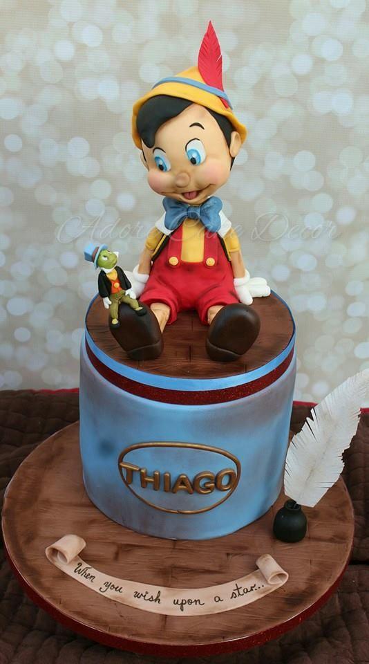 Adore Cake Decor cake Pinterest Pinocchio, Cakes and ...