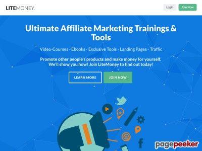 nice LiteMoney - Internet and Affiliate Marketing System