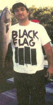 John Belushi in Black Flag shirt