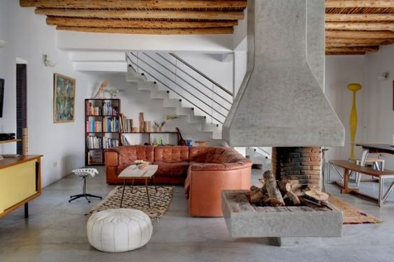 Moroccan Inspired + Modern Countryhouse - wave avenue. Gorgeous, earthy home.