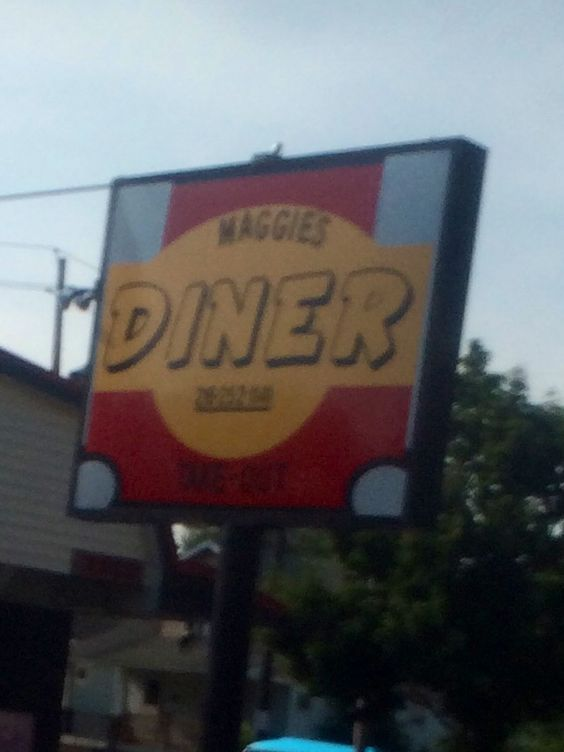 "A dinner named after my sis .... Maggie "" Maggies dinner"""