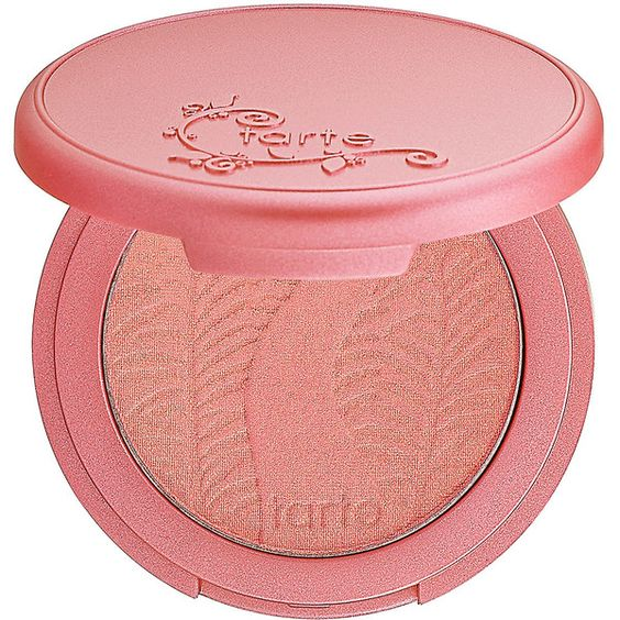 tarte Amazonian Clay 12-Hour Blush (220 SEK) ❤ liked on Polyvore featuring beauty products, makeup, cheek makeup, blush, cosmetics, tarte и tarte blush