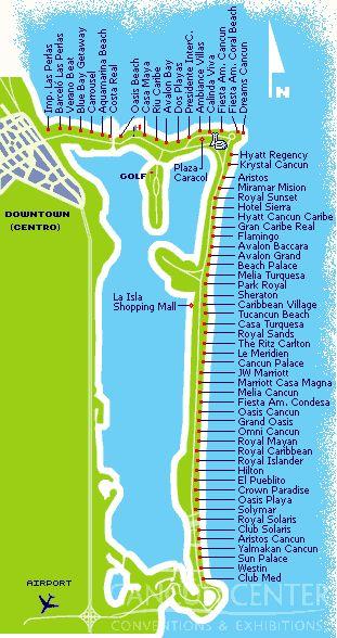 Cancun Hotel Zone Map Cancun Mexico Pinterest Cancun Hotels Cancun And Cancun Hotel Zone
