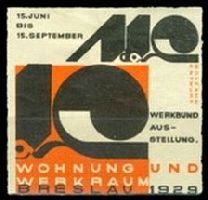 Breslau 1929 Wohnung Werkraum Molzahn