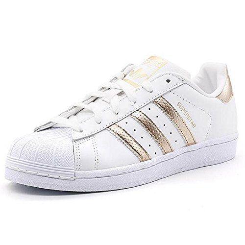 #fashion #shoes #running #newdeals #free #santa #christmas #blackfriday Adidas Originals Women's Superstar W Fashion Sneaker (Womens 7, Rose Gold) | Xava Center