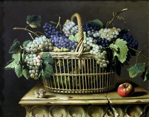 A Basket of Grapes, Pierre Dupuis