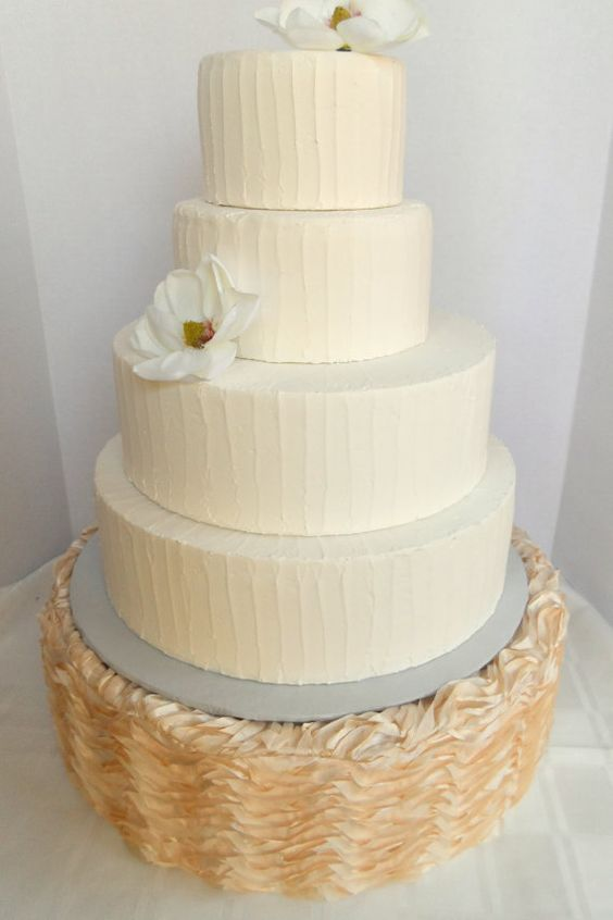 pearl ribbon for wedding cake wedding cake stand gorgeous ribbon textured satin in 18167