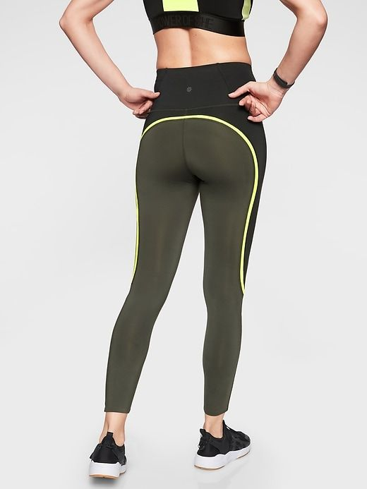 Spar Colorblock 7 8 Tight Active Wear For Women Workout Gear Tights