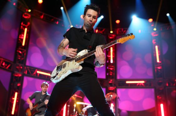 Adam Levine performs at the #GRAMMYNoms Concert in Nashville on Dec. 5th. The 55th GRAMMY Awards air 2/10/13 on CBS! #TheWorldIsListening Photo: Christopher Polk/Getty Images