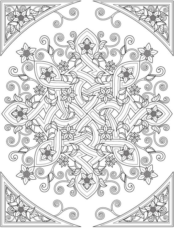 Creative Colouring Patterns Of Nature : Welcome to dover publications from creative haven deluxe