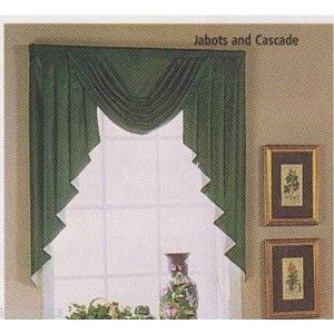 Jabot Window Treatments Jabot And Cascade Solid Lined Swag Set Extra Valances Brings The