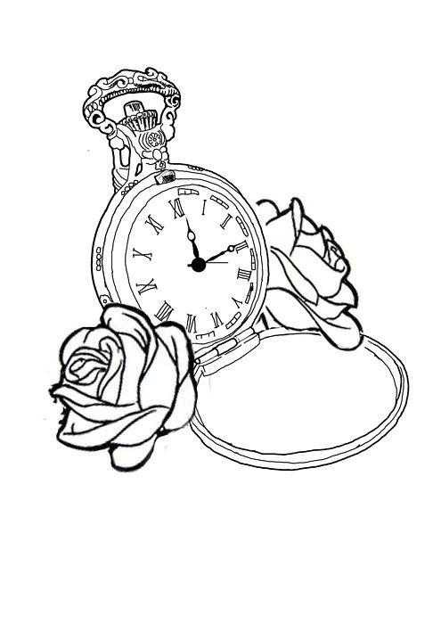 watch tattoo | ...