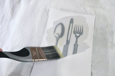 how to transfer a picture to cloth. Ooooo!!!! love this :)    **maybe hand written recipes to tea towels for gifts?**