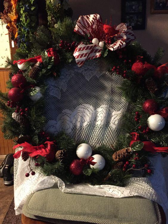 seasonal wreaths by Tammyswreathsandcraf on Etsy