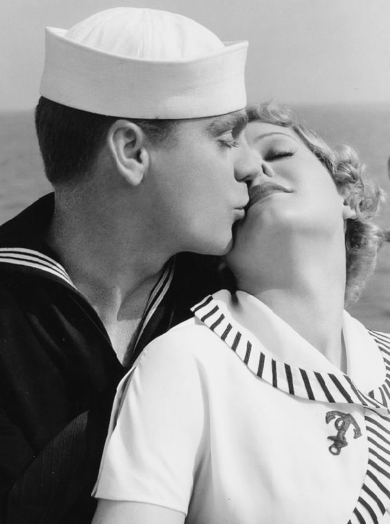 James Cagney and Gloria Stuart in Here Comes the Navy, 1934