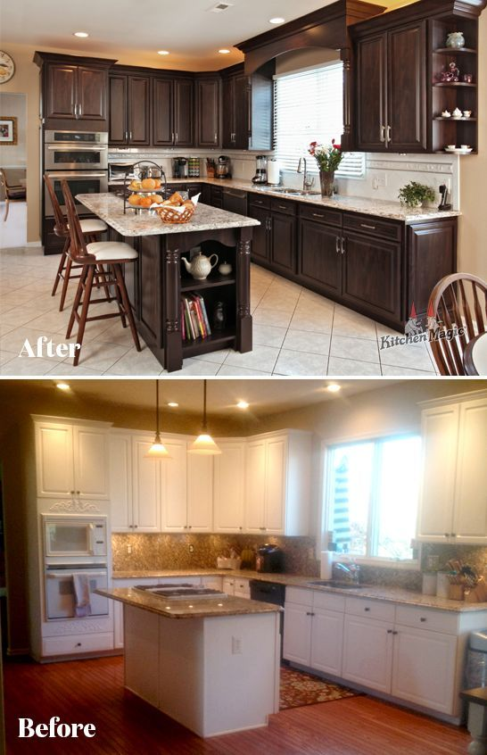 Before And After Beforeandafter If You Re Like Many Homeowners You Plan To Keep The Existing Layou Kitchen Remodel Kitchen Bathroom Remodel Kitchen Design