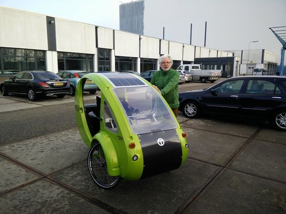 By Organic Transit. Now in the Netherlands #Almere