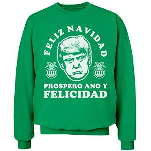 Donald Trump Holiday Christmas Sweaters – Ugly Sweaters By ...